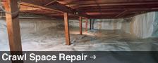 Crawl Space Repair in British Columbia